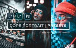 Dope-Portrait-Lightroom-Presets