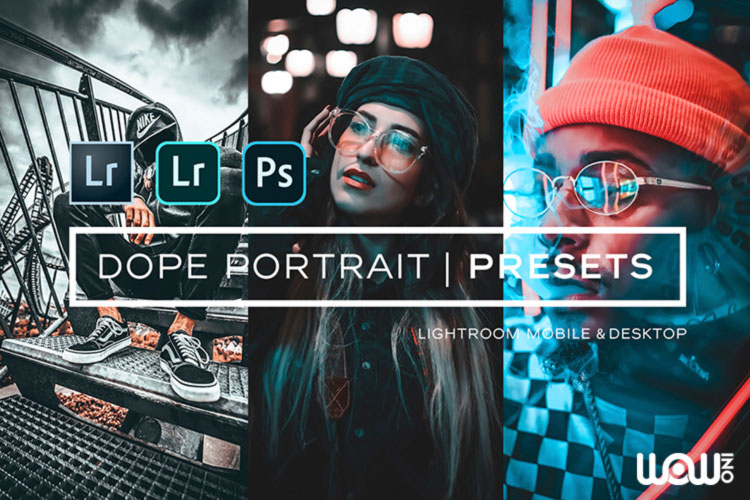 Dope Portrait Lightroom Presets