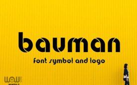 Bauman-font