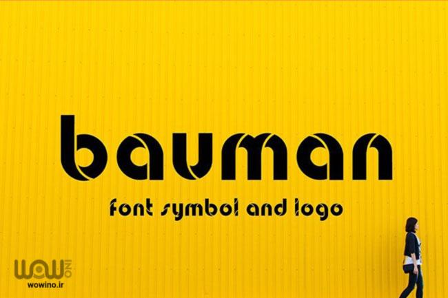 Bauman Font