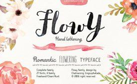 Flowy-Font-Bundle