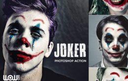Joker-Photoshop-Action