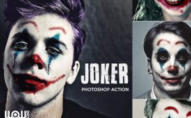 Joker-Photoshop-Action