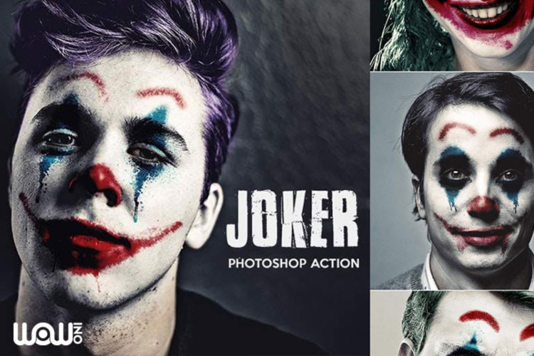Joker Photoshop Action