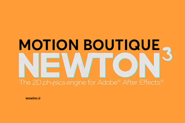 Newton 3 For After Effect