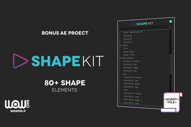 Shape Kit Script 1.0