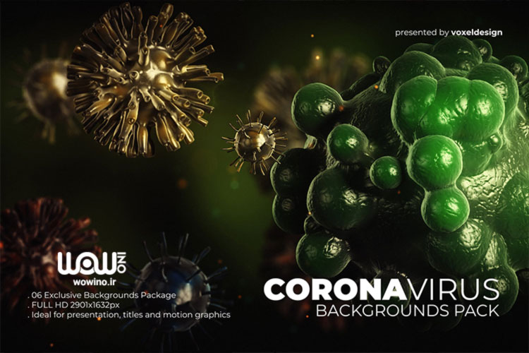 coronavirus backgrounds pack