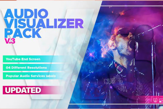 Videohive Audio Visualizers Pack