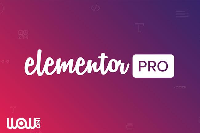 افزونه صفحه ساز Elementor Pro
