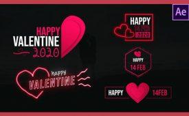 Videohive-Valentine-Modern-Titles